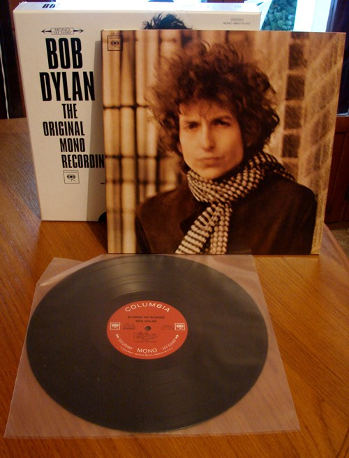 Blonde On Blonde - pochette vinyle - édition mono