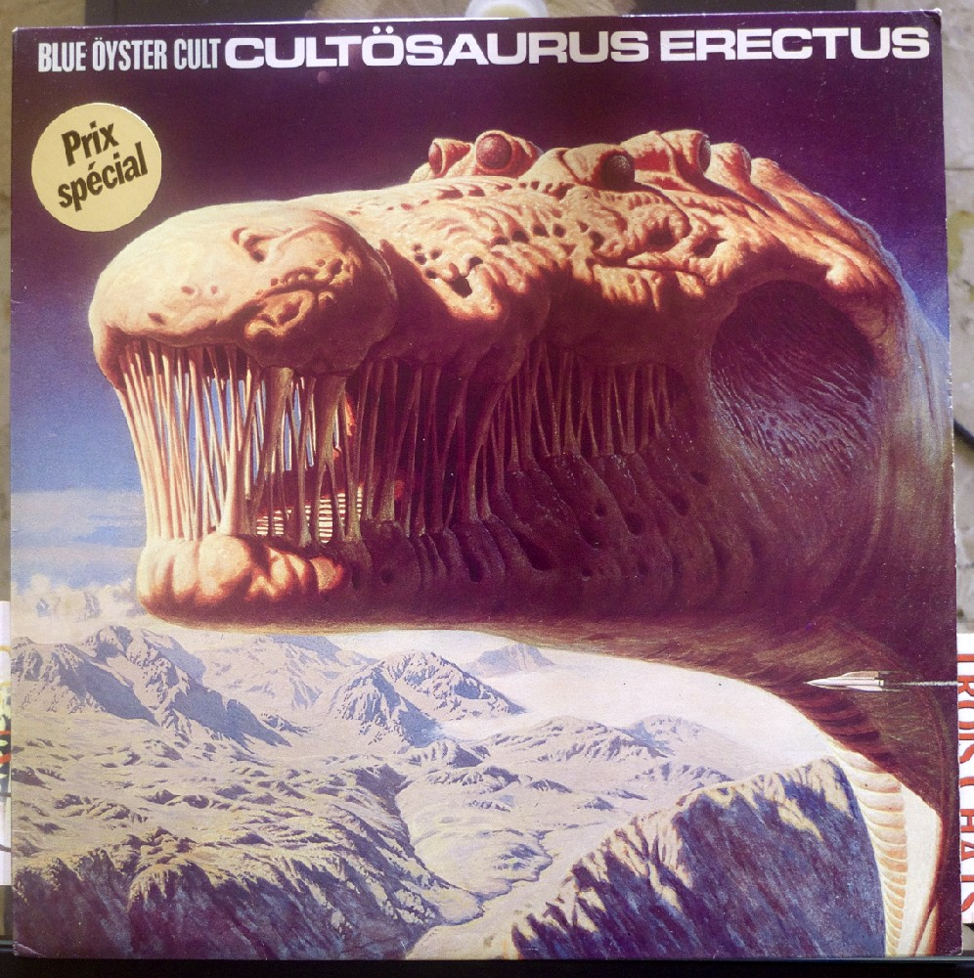 Blue Oyster Cult - Cultosaurus Erectus (la pochette)