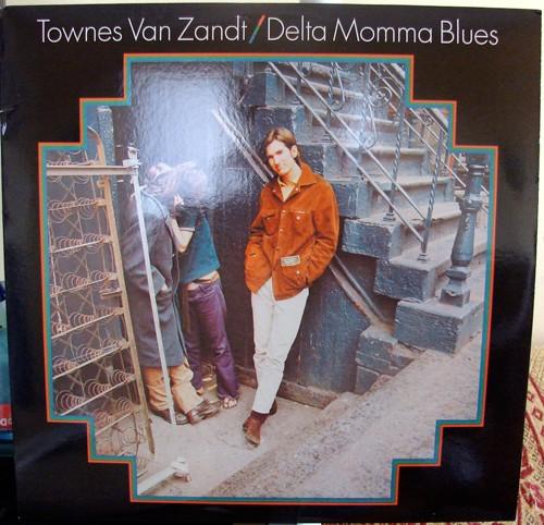 Delta Momma Blues, la pochette du vinyle