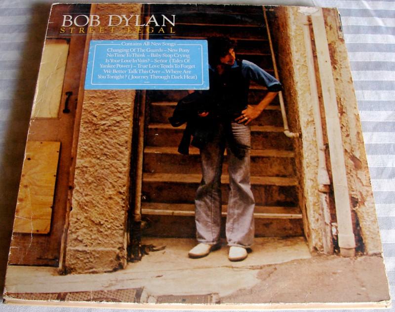 pochette Street Legal de Bob Dylan