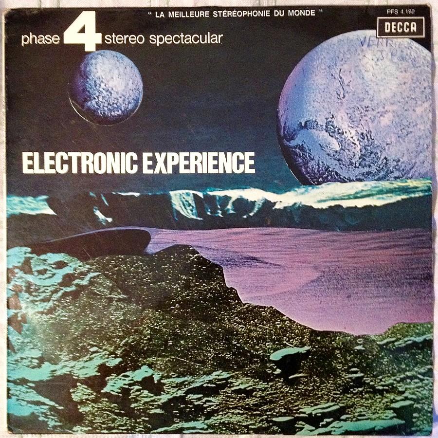 Pochette de Electronic Expérience de Claude Denjean.