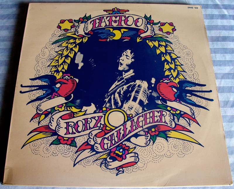 pochette de l'album Tattoo de Rory Gallagher