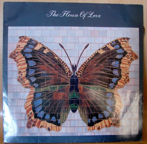 The House Of Love, second album, pochette papillon