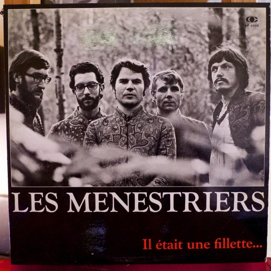 Les Ménestriers, Il était une fillette… Album Folk