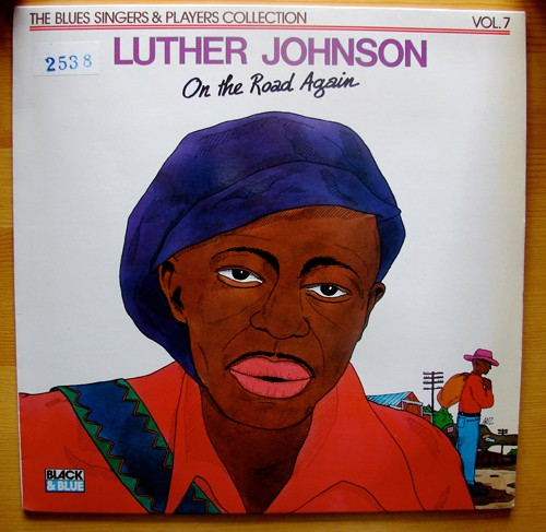 Pochette album Luther Johnson - On the road again