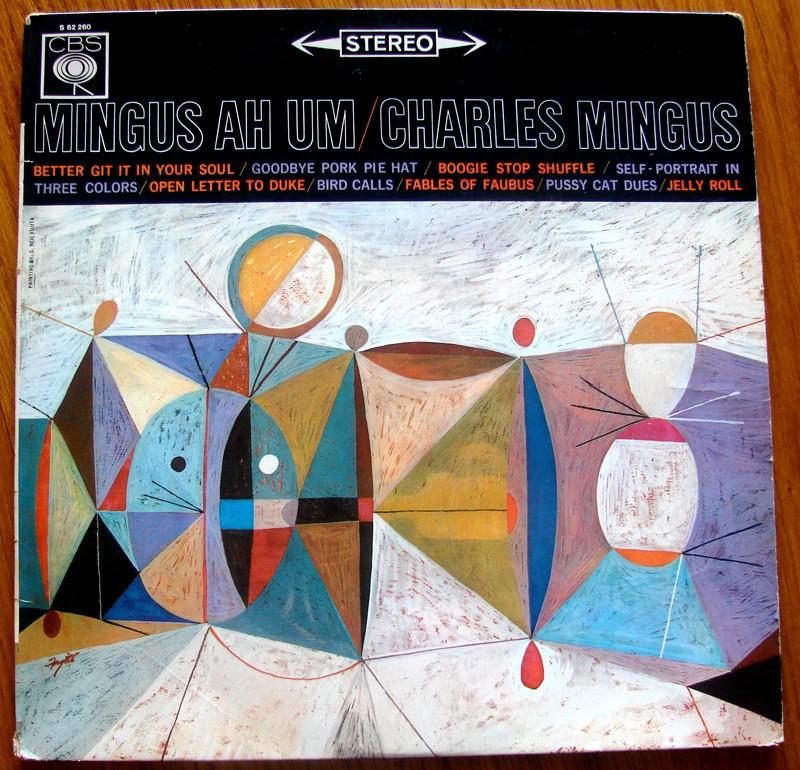 Ah Um, Charles Mingus, pochette du disque vinyle
