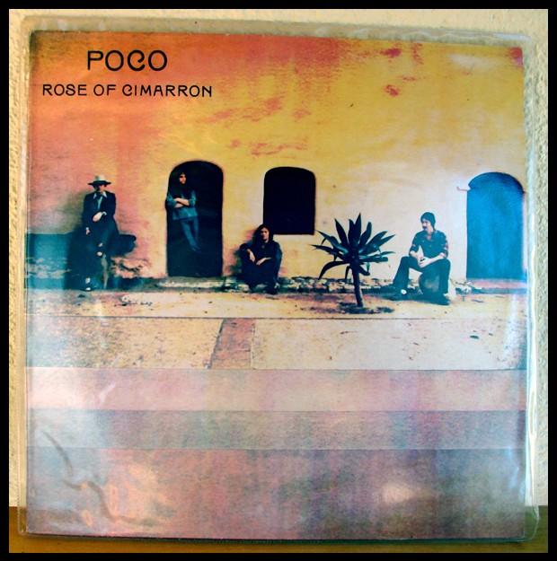 Poco et l'album Rose of Cimarron, la pochette
