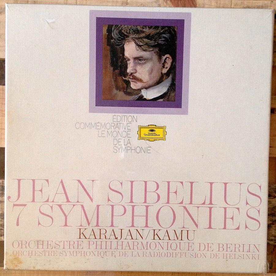 Sibelius Karajan 7 symphonies.