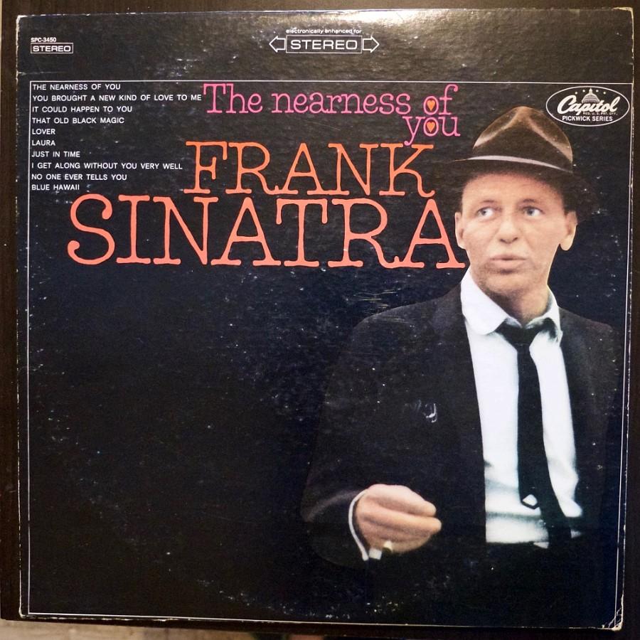 Une compilation de Sinatra, pressage US