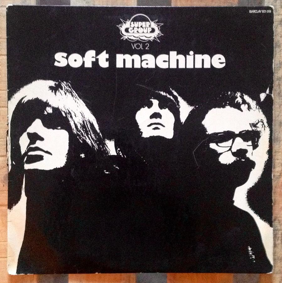 pochette Soft Machine (Vol.2) Barclay