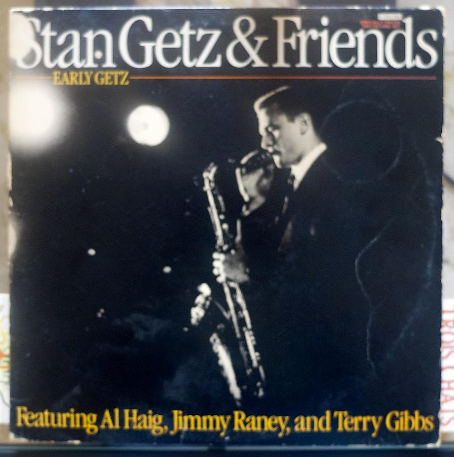 Stan Getz & Friends - Early Getz (la pochette)