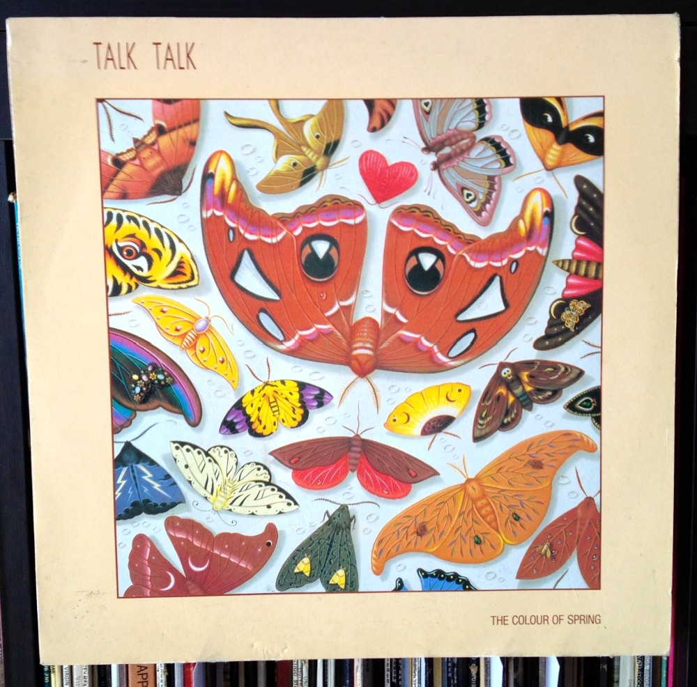 Talk Talk, pochette album Colour Of Spring