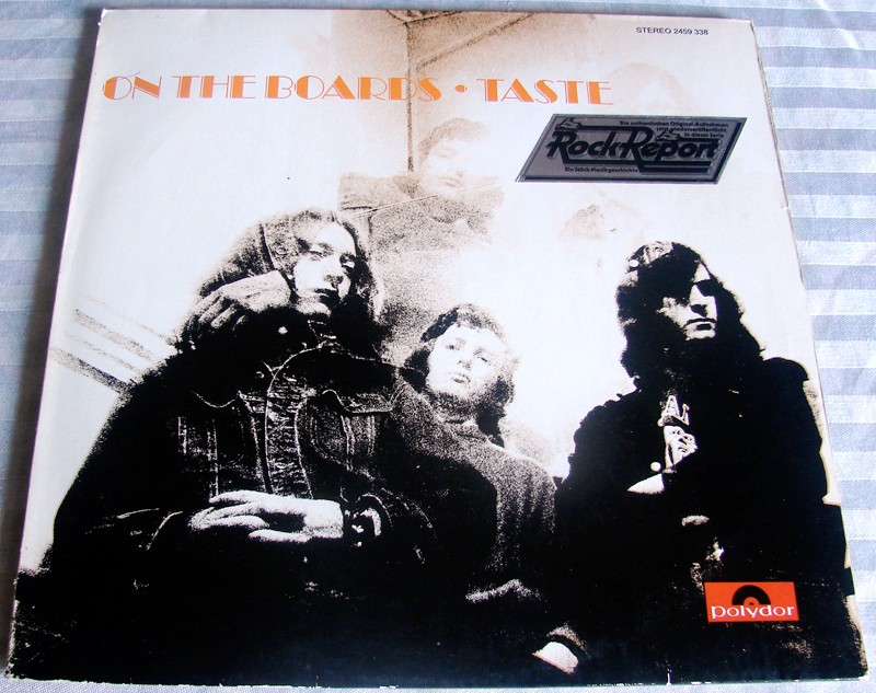 deuxième album de Taste, la pochette