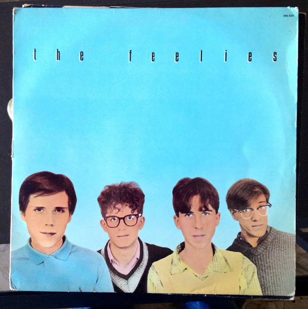 Pochette de l'album Crazy Rhythms / The Feelies