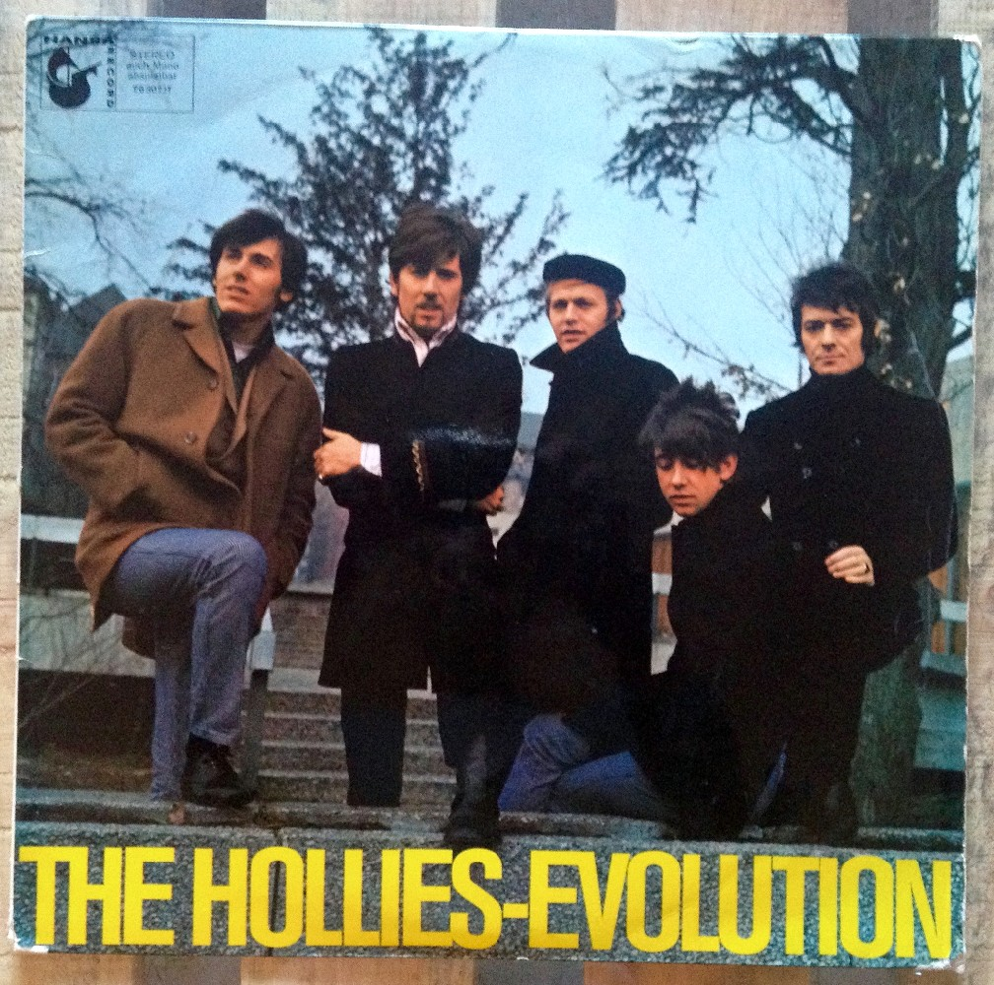 Pochette The Hollies - Evolution