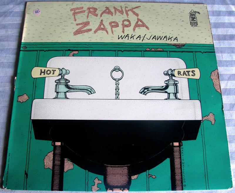 Waka Jawaka, Franck Zappa, la pochette
