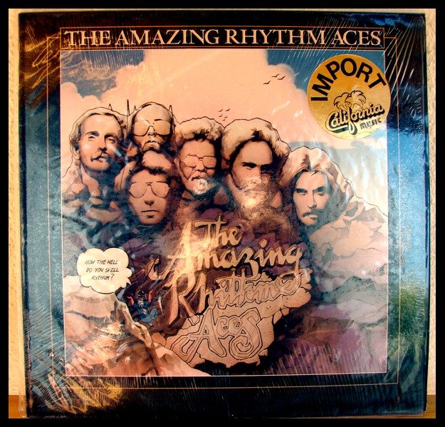 The Amazing Rhythm Aces et l'album How the hell do you spell Rythm ? - la pochette