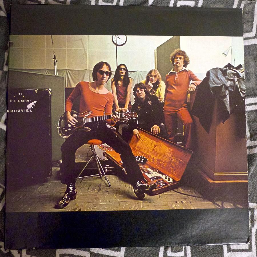 The Flamin'Grovies avec l'album Teenage Head, la pochette