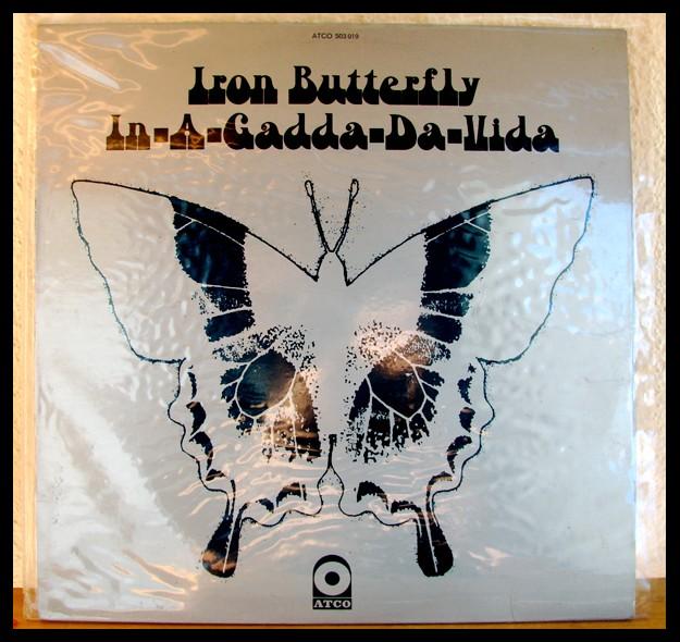 Iron Butterfly - In-A-Gadda-A-Vida, la pochette