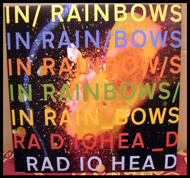 Radiohead, In Rainbows pochette du vinyle